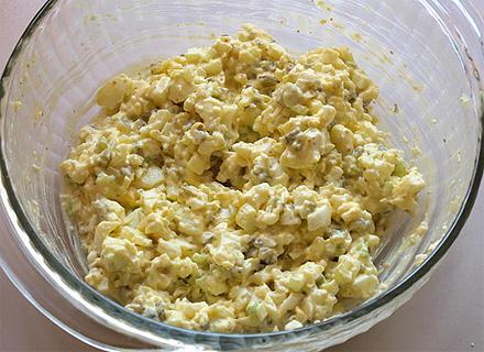 Рецепт салата из яиц, о котором Вы не слышали