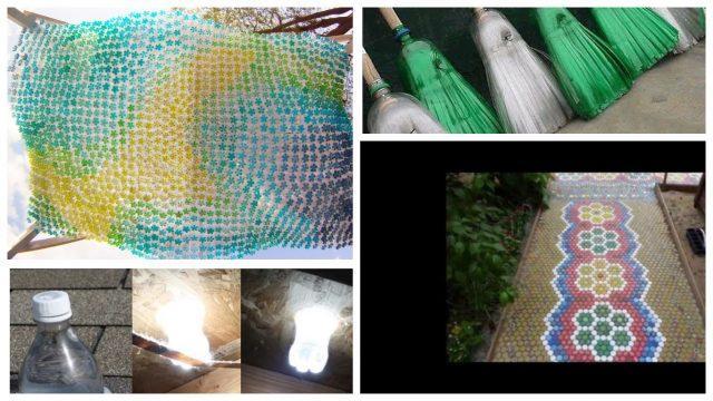 Полезное применение пластиковых бутылок на даче (Часть 2)