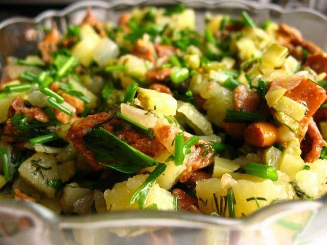 Мой рецепт деревенского салата