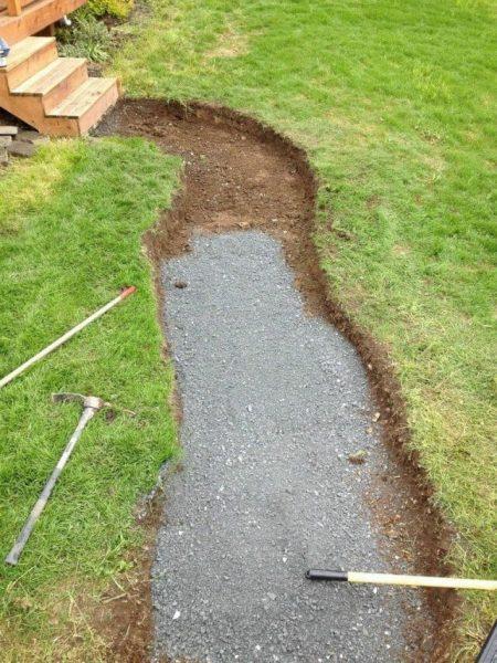 Как сделать гравийные дорожки – делаем насыпные садовые дорожки из гравия во дворе и на даче