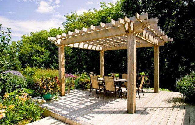 Делаем перголы и арки из дерева для дачи своими руками + пошаговая инструкция и фото