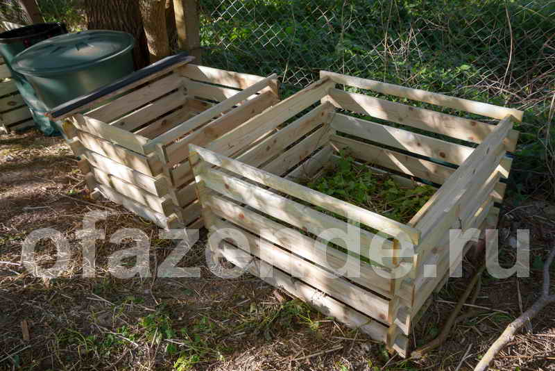 Идеальный компостный ящик: место, материал, размеры, использование