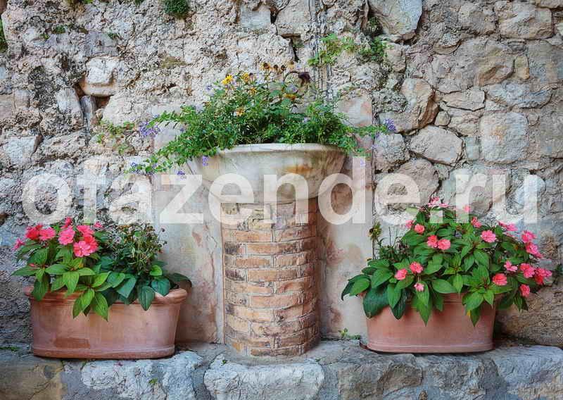 Вазоны для цветов: уличный декор из бетона своими руками