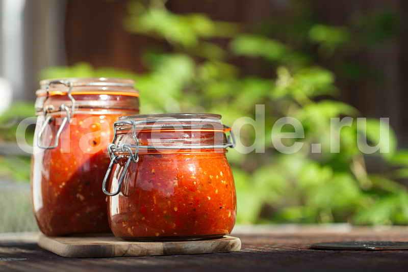 """Соус """"сальса"""" из томатов на зиму"""