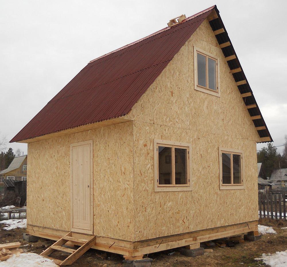 Как построить надежный и недорогой каркасный дом
