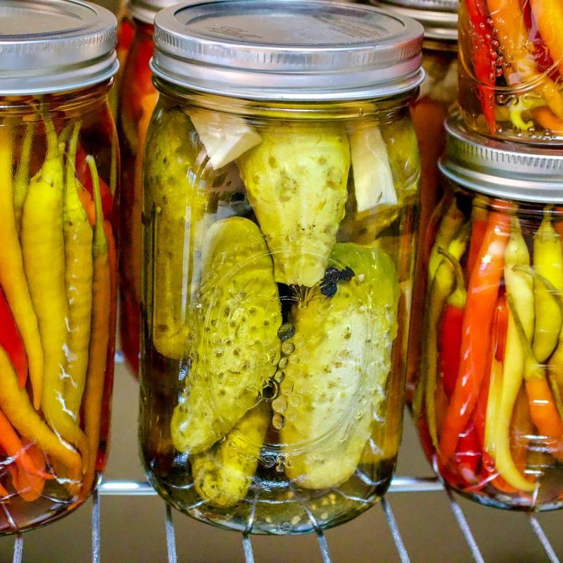 Вкуснейшие огурчики с использованием лимонной кислоты