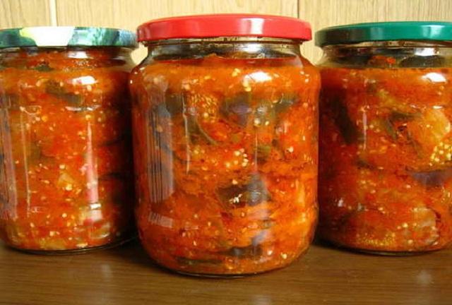 """Готовим салат из баклажанов """"Татарская песня"""""""