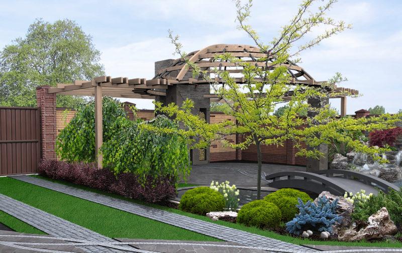 Как заставить маленький сад выглядеть просторнее: 7 советов