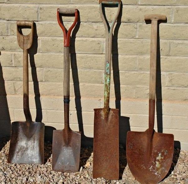 Как очистить садовый инструмент от ржавчины после зимы
