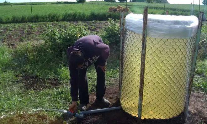 Бак для полива участка
