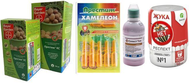 Препараты для обработки клубней