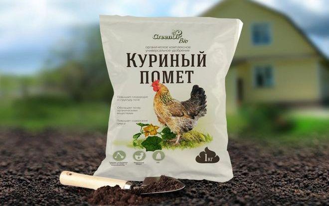 Куриный помет для картошки