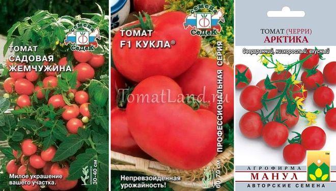 Скороспелые/ранние сорта низкорослых томатов