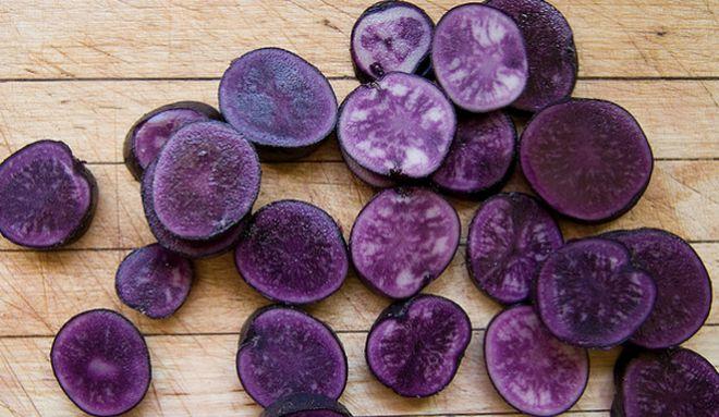Фиолетовый картофель Гурман