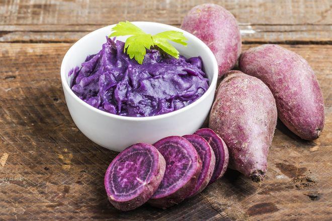 Картофель фиолетовый внутри