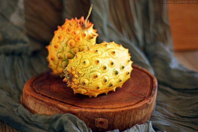 Созревшие плоды кивано