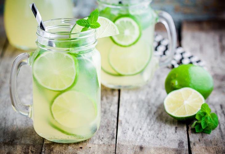 Лаймовый лимонад