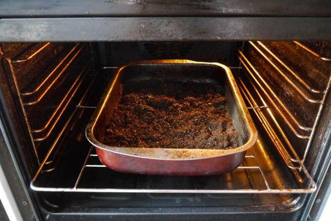 Прогрев земли для рассады в духовке