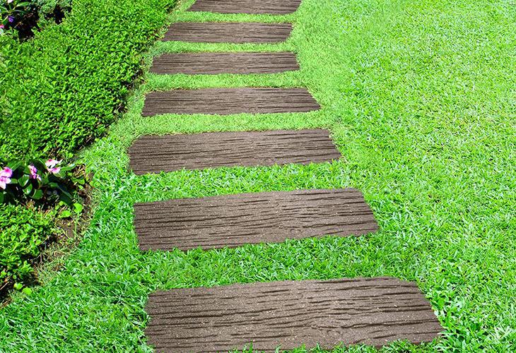 Садовые дорожки с защитой от сорняков