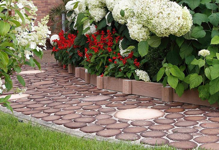 Садовые дорожки из материалов