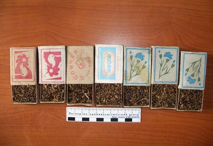 Спичечные коробки для хранения семян