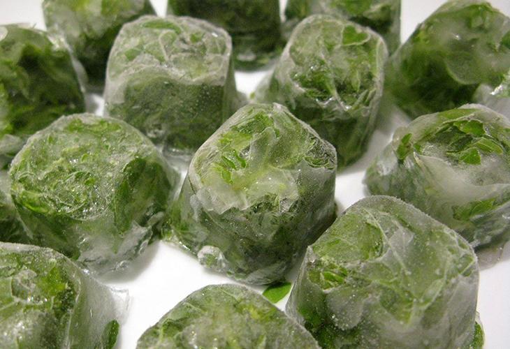 Заморозка салата в измельченном виде