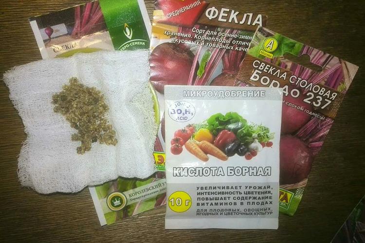 Борная кислота как стимулятор семян