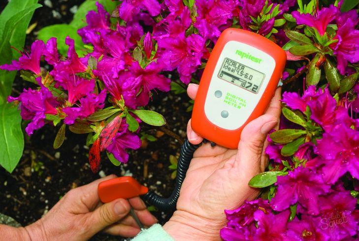 Измерение Ph почвы