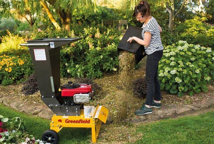 Измельчитель травы и веток