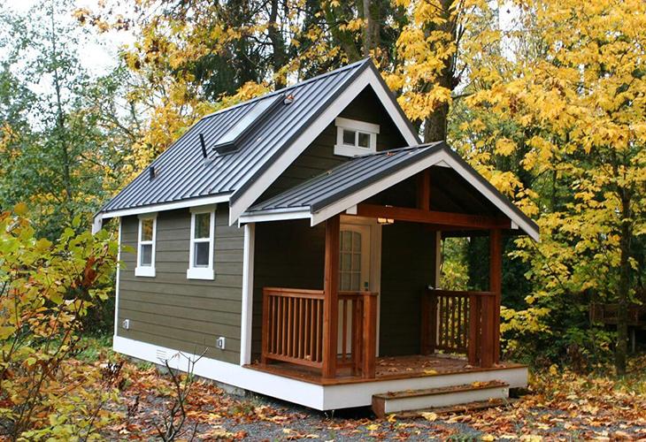 Небольшой дачный дом
