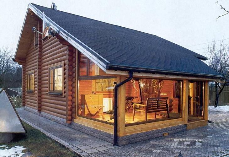 Дачный дом с сауной