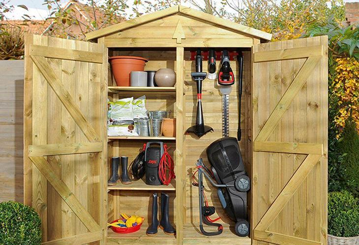 Шкаф для садового инструмента