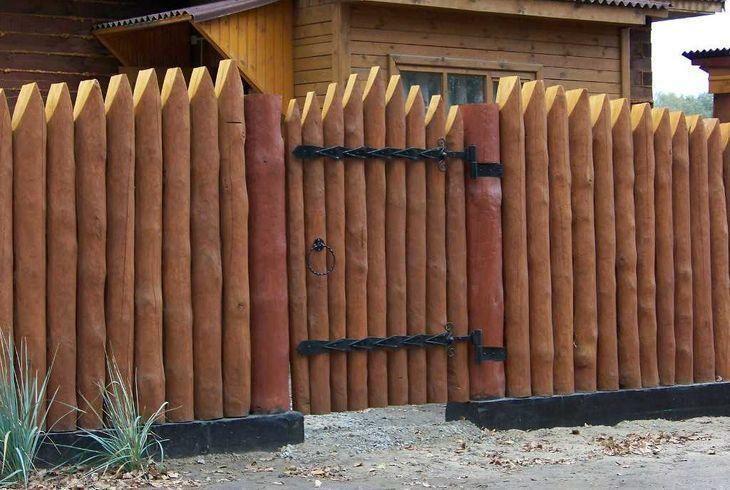 Деревянные ограждения для дачи и дома