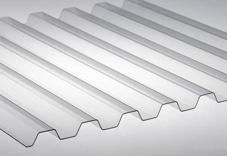 Профилированный поликарбонатовый лист