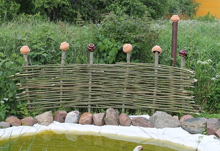Декоративные заборчики